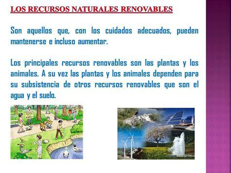 Cuadros Comparativos y sinópticos sobre recursos naturales ...