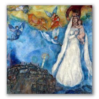 Cuadros de Chagall, obras del surrealismo y el cubismo.
