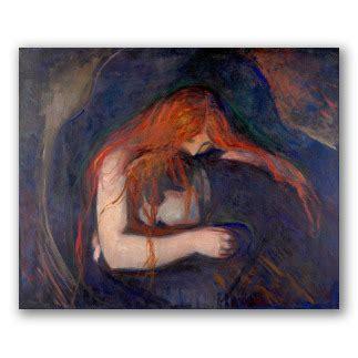 Cuadros de Munch, lienzos al óleo, obras expresionistas.