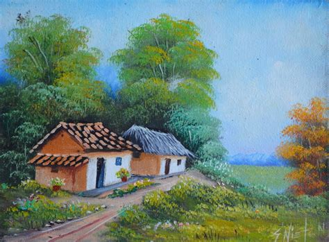 Cuadros Modernos Pinturas y Dibujos : Los mejores paisajes ...