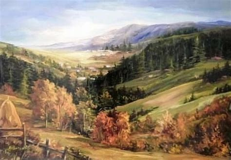Cuadros Modernos Pinturas y Dibujos : Paisajes Campiranos ...