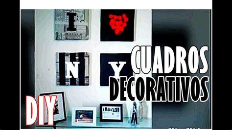 Cuadros para decorar DIY   #holayosoyrafa   YouTube