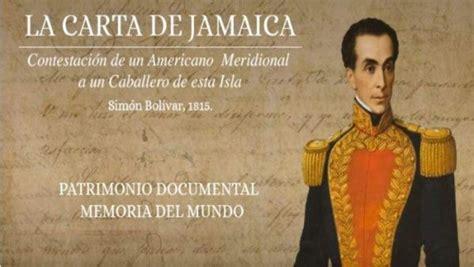 ¿Cuál es el significado histórico de la Carta de Jamaica ...