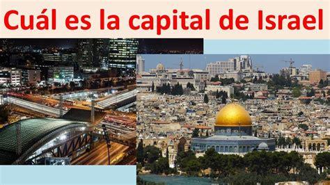 cual es la capital de Israel   YouTube
