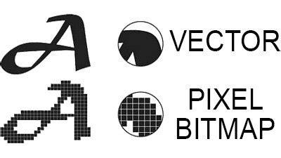¿Cuál es la diferencia entre bitmap y vector? ¿qué formato ...