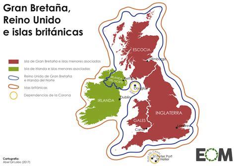 ¿Cuál es la diferencia entre Gran Bretaña, Reino Unido e ...