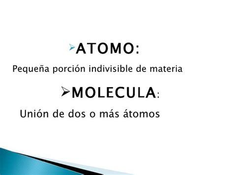 ¿Cual es la diferencia entre los átomos y la molécula? ️ ...