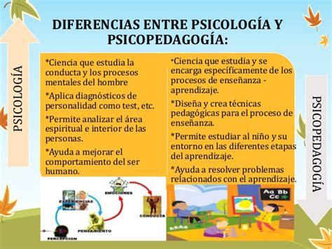Cual Es La Diferencia Entre Psicologia Y Psicopedagogia ...