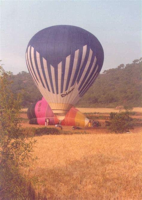 ¿Cuál fue el primer globo de aire caliente fabricado en ...