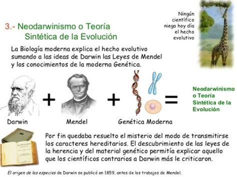 ¿Cuáles son las teorías evolutivas?   Teoría evolucionista