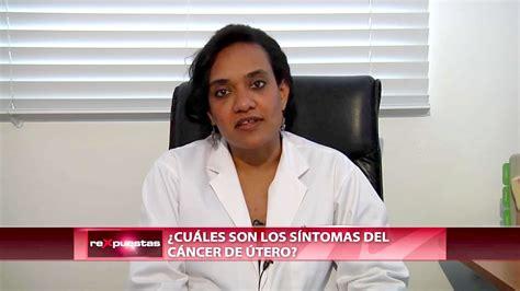 ¿Cuáles son los síntomas del cáncer de útero?   YouTube