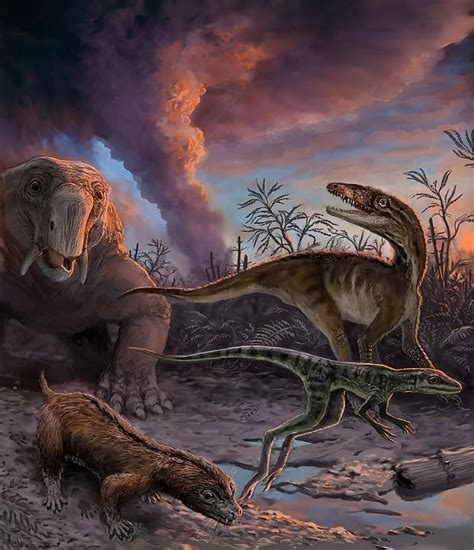 ¿Cuándo aparecieron los dinosaurios sobre la Tierra?