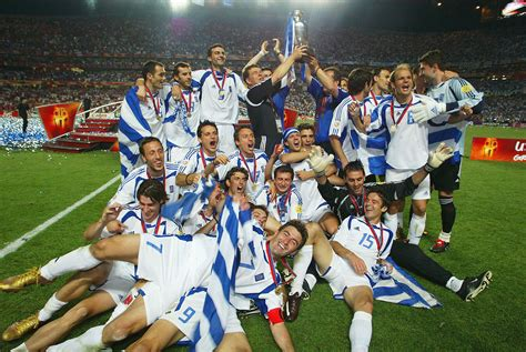 Cuando Grecia tocó el cielo en la Eurocopa de Portugal ...