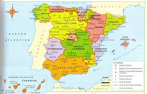 ¿Cuántas provincias tiene España y cuáles son?