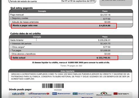 ¿Cuánto debo de mi crédito Infonavit 2020?   Infonavit México