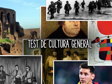 ¿Cuánto sabes de Cultura General? Descúbrelo con este test
