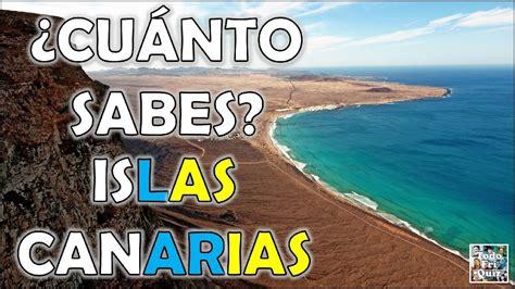 ¿Cuánto Sabes Sobre las  ISLAS CANARIAS ? Test/Trivia/Quiz ...