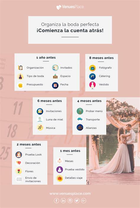 ¿Cuánto tiempo necesitas para organizar la boda perfecta ...