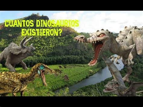 ¿Cuántos dinosaurios existieron?: teoría científica   YouTube
