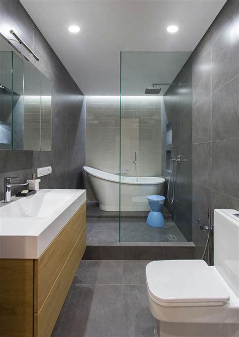 Cuarto de baño minimalista y moderno