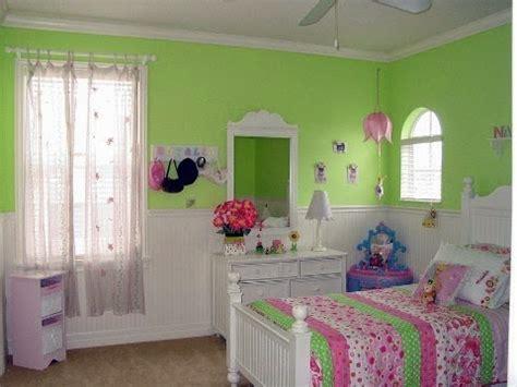 Cuartos para niñas en verde y rosa   Ideas para decorar ...