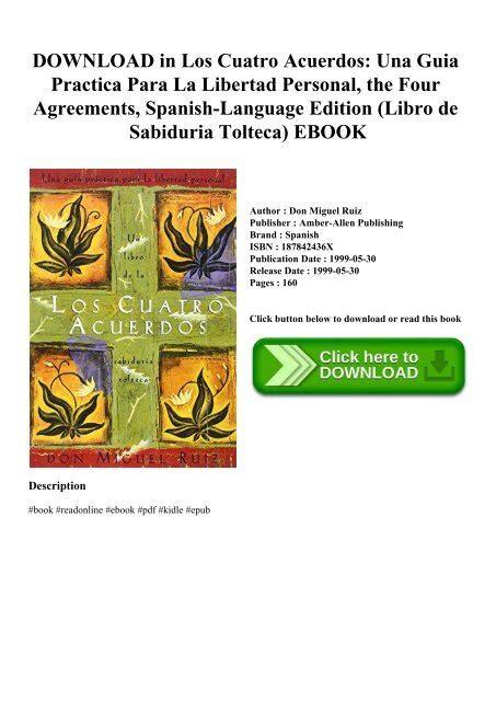 Cuatro Acuerdos Toltecas Pdf   Libros Favorito