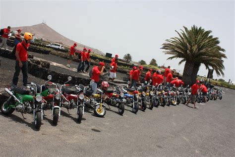 Cuatro meses de rutas en Honda 70 por Lanzarote ...