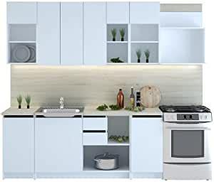 CUBA   Bloque de muebles de cocina, 260 cm: Amazon.es: Hogar