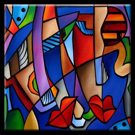 Cubist 107 3636 Seeing Sounds   by Thomas C. Fedro from ...