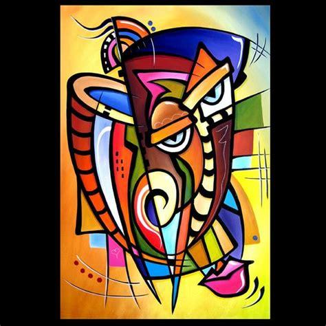 Cubist 119 2436 Original Cubist Art Scratching Post   by ...