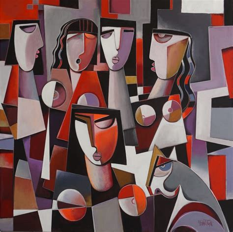Cubist style and Neo Cubism Paintings for sale   Ygartua ...