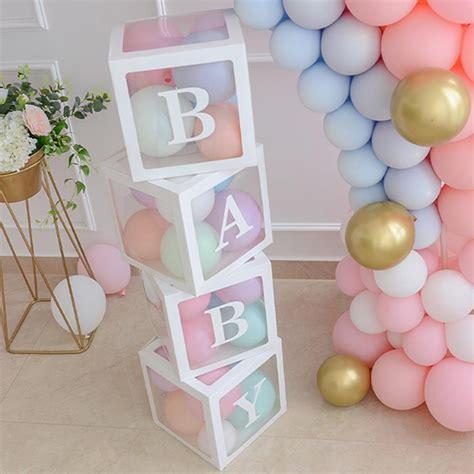 Cubos o cajas transparentes para decoración de fiestas ...