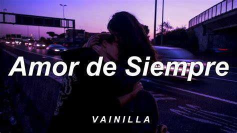 CUCO   amor de siempre // letra   YouTube