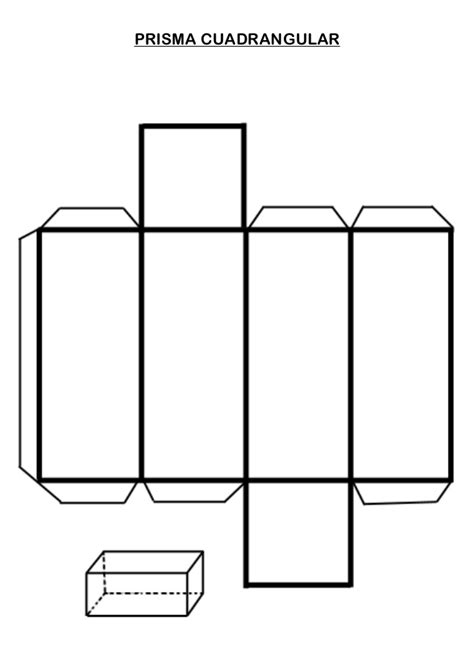 Cuerpos Geométricos: con nombres, para armar, colorear e ...