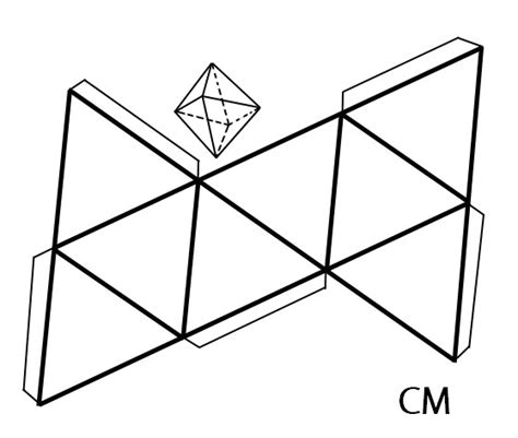 Cuerpos Geometricos Para Armar | 123 | Pinterest | 3d ...
