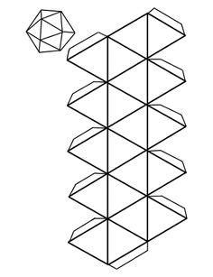 Cuerpos Geometricos Para Armar | 123 | Pinterest | Math ...
