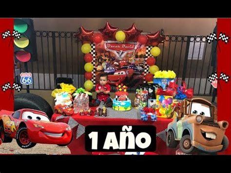 CUMPLEAÑOS #1 DE OSCAR+ FIESTA DE CARS   YouTube