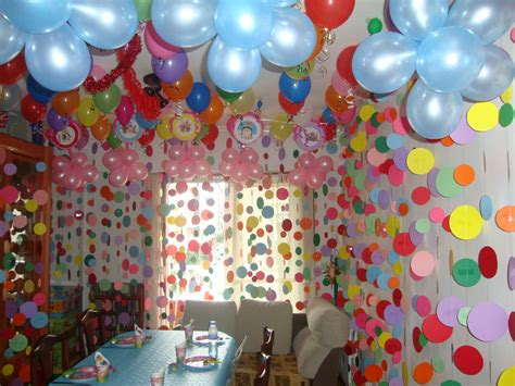 Cumpleaños de niña en casa.   DeCumple.net