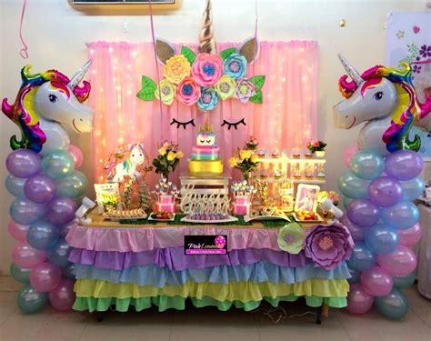 Cumpleaños de unicornio ¡Pasteles, decoración y más!