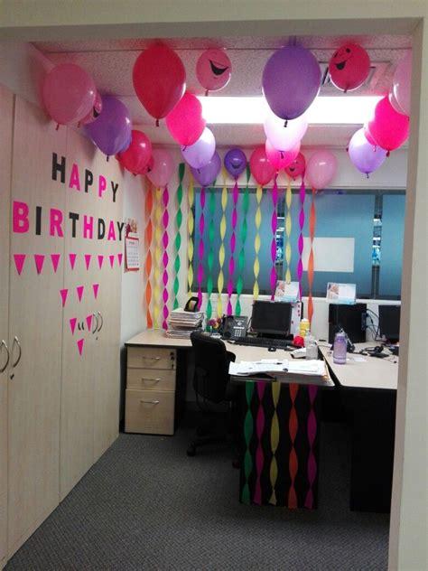 Cumpleaños decoración | Cumpleaños de oficina, Decoracion ...
