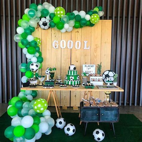 Cumpleaños Decoracion De Fiesta De Futbol Para Niños   Hay ...