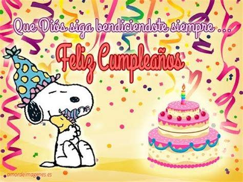 Cumpleaños Feliz de Snoopy   YouTube