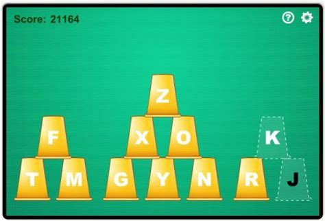 Cup Stacking Free Typing Game For Kids | Typing games ...