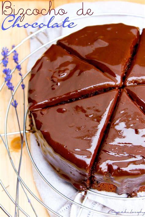 Cupcakelosophy: bizcocho de chocolate | Bizcocho de ...