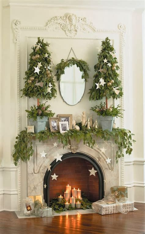 Cupcakes & Couture: Design Inspiration: Christmas Fireplaces