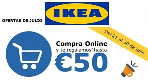 Cupón descuento IKEA de 50€ para compras online + 60% ...