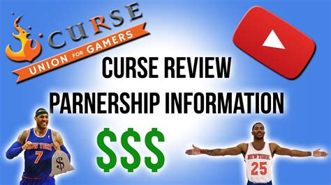 Curse Union For Gamers | YouTube Partnership Review ...