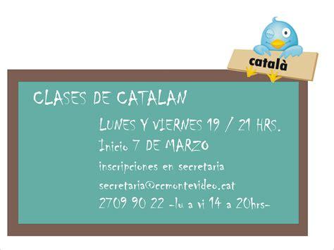 Curso Básico Intensivo de Catalán   Casal Catalá de Montevideo