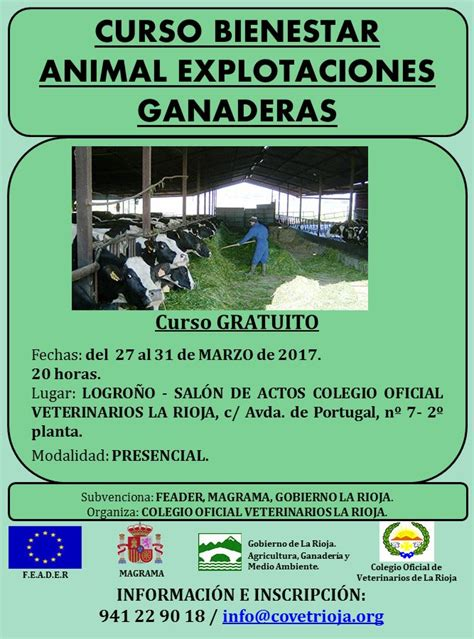 CURSO BIENESTAR ANIMAL EN EXPLOTACIONES GANADERAS ...