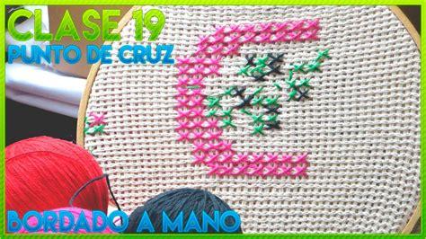 CURSO BORDADO A MANO FÁCIL | CLASE 19 PUNTO DE CRUZ PARA ...